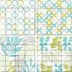 WallPops! Dry Erase 4 Piece Habitat Calendar Wall Decal Set