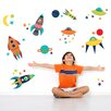 WallPops! Wall Art Kit Blast Off Wall Decal