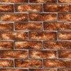 "Brewster Home Fashions 33' x 20.5"" Trompe L'oeil Embossed Wallpaper"