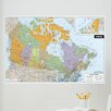 Brewster Home Fashions WallPops Dry-Erase Canada Wall Mural