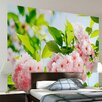 Brewster Home Fashions Ideal Décor Sakura Blossom Wall Mural