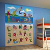 Brewster Home Fashions Ideal Décor Animal Alphabet Wall Mural