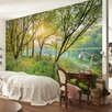 Brewster Home Fashions Komar Spring Lake Wall Mural
