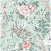 "Brewster Home Fashions Kismet Ainsley Boho Floral 33' x 20.5"" Wallpaper"