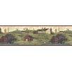 "Brewster Home Fashions Countryside Leanne Nottingham Farms 15' x 6"" Border Wallpaper"