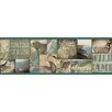 "Brewster Home Fashions Echo Lake Lodge Trumball Wild Game 15' x 6"" Border Wallpaper"