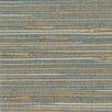 "Brewster Home Fashions Zen 24' x 36"" Jissai Mariner Grasscloth Wallpaper"