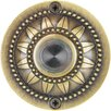 Waterwood Hardware Solid Brass Pearl Bloom Doorbell