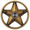 "Waterwood Hardware Brass Lone Star 3.25"" Doorbell"