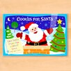 Olive Kids Chirstmas Cookies for Santa Personalized Placemat