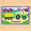 Olive Kids Tractor Personalized Placemat