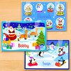 Olive Kids Christmas 3 Piece Personalized Placemat Set