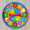 """Olive Kids 12"""" Numbers Personalized Wall Clock"""