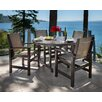 POLYWOOD® Coastal 5 Piece Dining Set