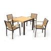 POLYWOOD® Bayline™ 5 Piece Dining Set I