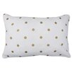 Park B Smith Ltd Dazzling Dots Cotton Lumbar Pillow