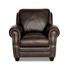 Luke Leather Solomon Italian Leather Chair