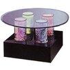 Midwest Tropical Fountain Aqua Coffee Table