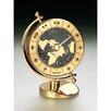 Seiko Brass Desk and Table World Time Bezel Clock