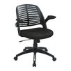 Ave Six Tyler Mid-Back Task Chair with Arms