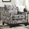 Ave Six Regent Arizona Polyester Club Chair