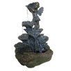 Alpine Tiered Flower and Angel Fountain
