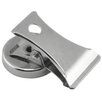 Master Magnetics Chrome Plated Magnet with Clip (Pack of 2)