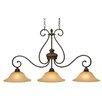 Wildon Home ® Starke 3 Light Island Light