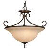 Wildon Home ® Sienna Ridge 3 Light Convertible Inverted Pendant
