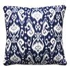 Wildon Home ® Ikat Throw Pillow (Set of 2)