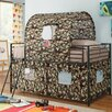 Wildon Home ® Camouflage Tent Loft Bed