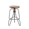 Wildon Home ® Basalt Adjustable Height Swivel Bar Stool