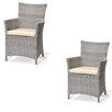 Wildon Home ® Baker Outdoor Easy Chair (Set of 2)