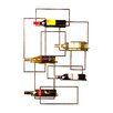 Wildon Home ® Declan 5 Bottle Wall Mount Wine Rack