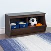 Wildon Home ® Stackable 2 Bin Storage Cubby