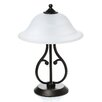 "Wildon Home ® 18.5"" H Table Lamp with Bowl Shade"