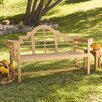 Wildon Home ® Lutyens Teak Garden Bench