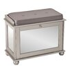 Wildon Home ® Heathfield Mirrored Shoe Bench