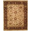Wildon Home ® Beige / Burgundy Area Rug