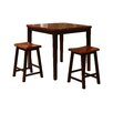 Wildon Home ® 3 Piece Counter Height Pub Table Set