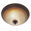 Wildon Home ® Alberta 2 Lights Flush Mount
