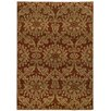 Wildon Home ® Aidan Floral Rust/Taupe Area Rug