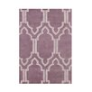 Wildon Home ® Anaya  Hand-Tufted Purple Area Rug