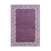 Wildon Home ® Ancarla  Hand-Tufted Purple Area Rug