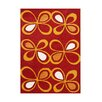 Wildon Home ® Allecia Hand-Tufted Fiesta Red/Orange Area Rug