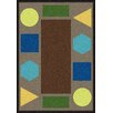 Wildon Home ® Cathirin  Brown Area Rug