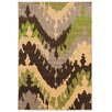 Wildon Home ® Cesara Brown/Green Area Rug