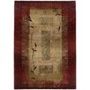 Wildon Home ® Gala Border Red & Beige Area Rug