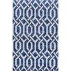 Wildon Home ® Akulah  Hand-Tufted Blue Area Rug