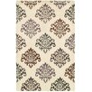 Wildon Home ® Annie  Hand-Tufted White Area Rug